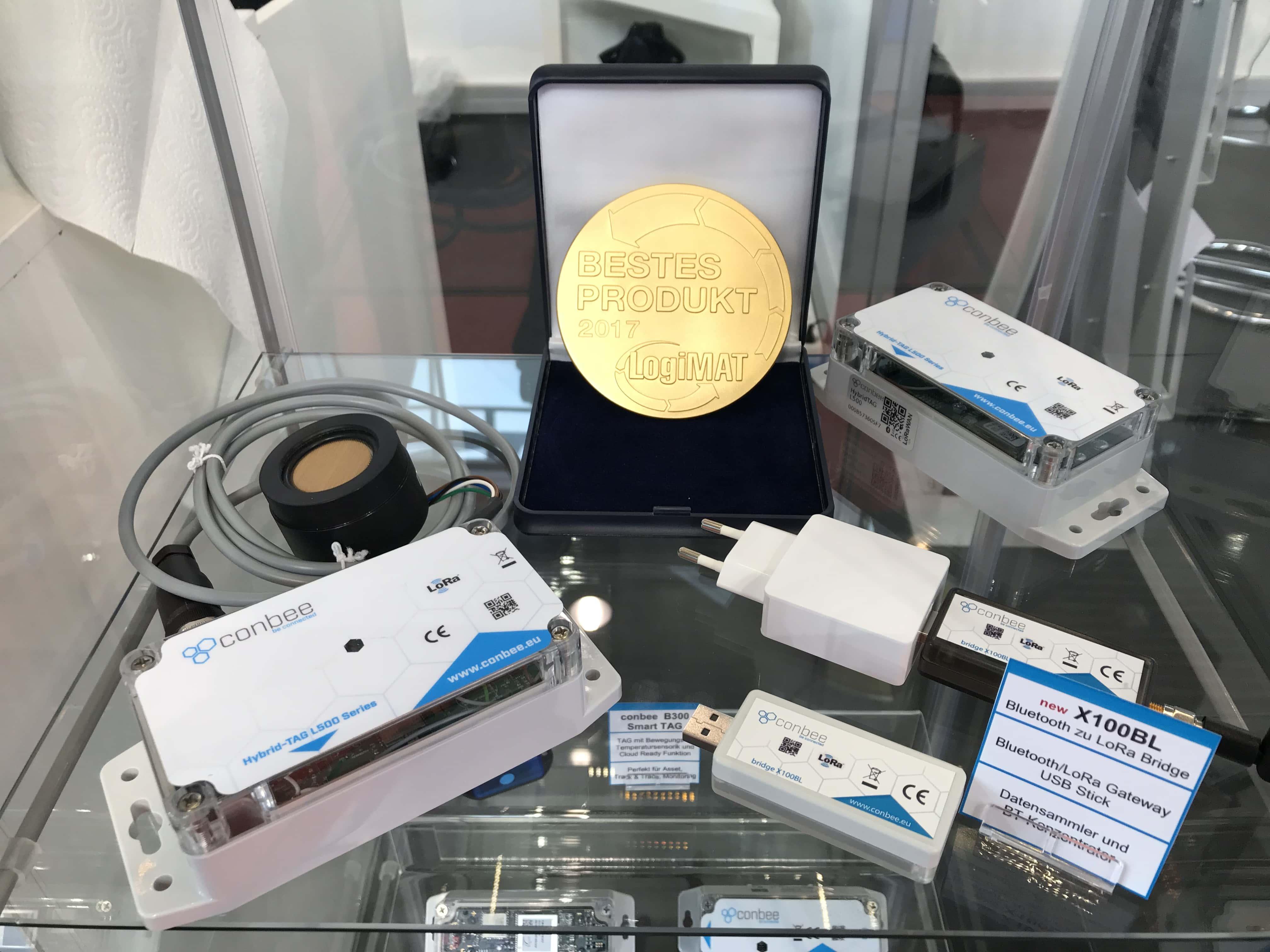 LoRaWAN für die Logistik: Conbee und SmartMakers zeigen Gesamtlösung