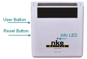 THr nke Watteco Raumsensor Buttons