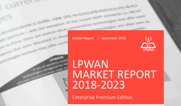 IoT Analytics LPWAN Report 2018-2023